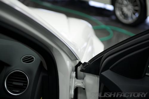 メルセデスベンツC180アバンギャルド_新車ガラスコーティング画像