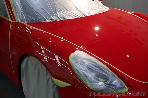 ボクスター_新車ガラスコーティング施工画像