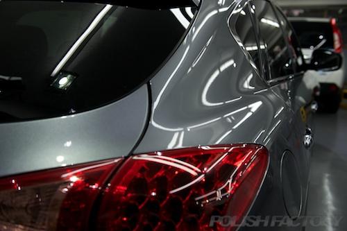 スカイラインクロスオーバー_新車にガラスコーティング施工画像