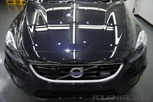 ボルボV40T5-R_ガラスコーティング画像