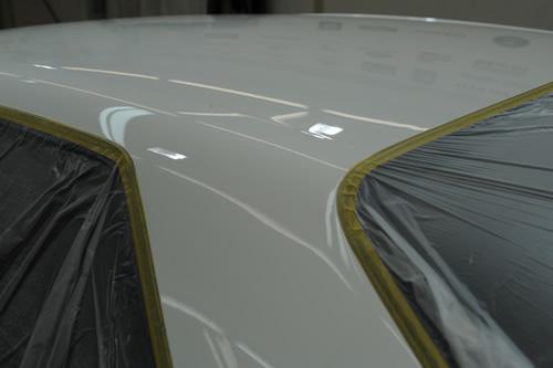 日産32GT-R磨きガラスコーティング施工画像