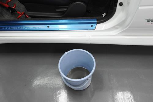 インプレッサ磨きガラスコーティング画像