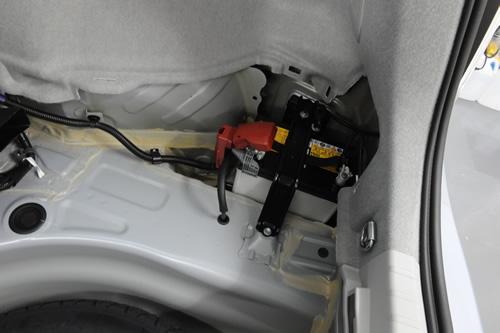 プリウス車磨きガラスコーティング画像