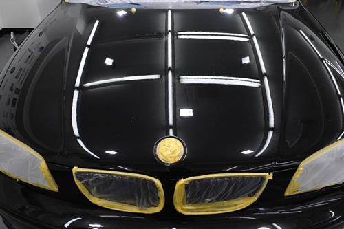 BMW116i磨きガラスコーティング画像