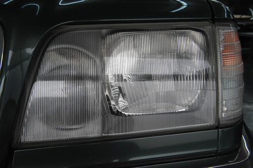 W124-E280磨きガラスコーティング画像