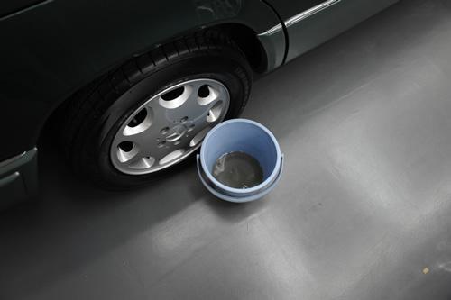 W124磨きガラスコーティング施工画像
