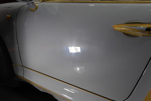 ポルシェ911磨きガラスコーティング施工画像