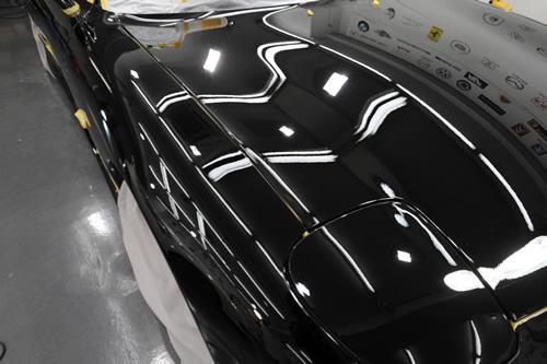 RX-7磨きガラスコーティングの施工画像