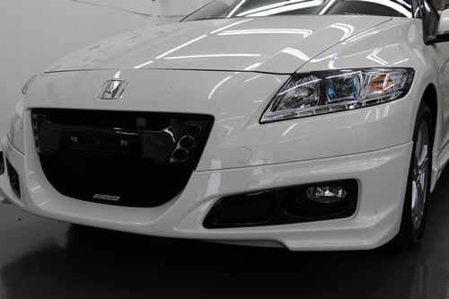 ホンダCR-Z車磨きガラスコーティングの施工画像集