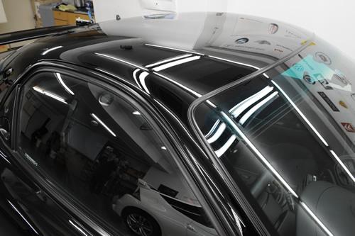 RX-7磨きガラスコーティング施工画像