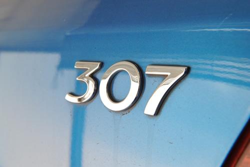 プジョー307磨きガラスコーティング施工画像