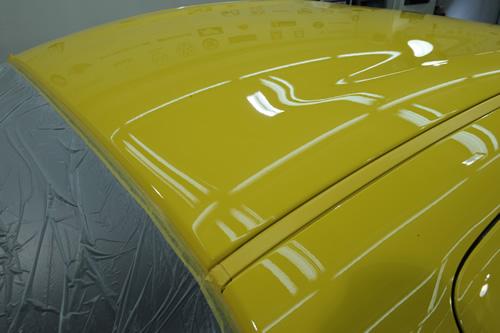 RX-8磨きガラスコーティングの施工画像