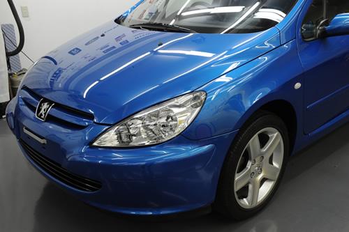プジョー Peugeot ガラスコーティング施工画像