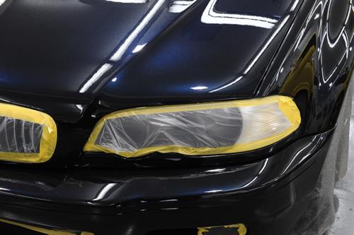 BMW E46 M3 施工画像