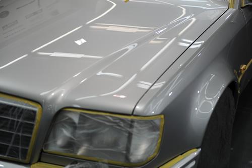 メルセデス ベンツ E500LTD施工画像