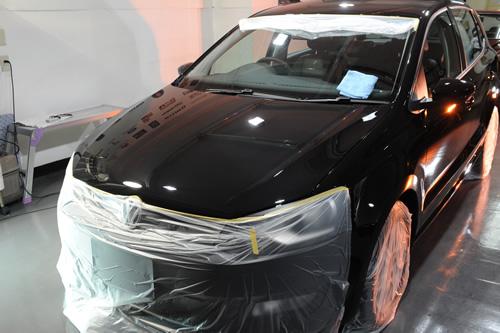 VW POLO 1_nt.2 TSI ガラスコーティング 施工画像