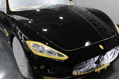 マセラティ Maserati グランツーリズモS施工画像