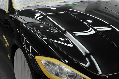 マセラティ Maserati グランツーリズモ ガラスコーティング  施工画像