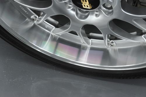 BMW E60 530iMSP 磨きガラスコーティング画像