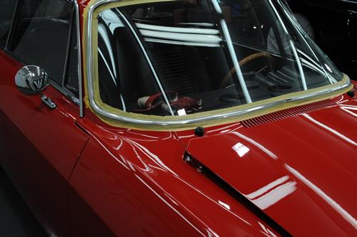 アルファロメオ Alfa Romeo 2000 GTV ガラスコーティング 施工画像