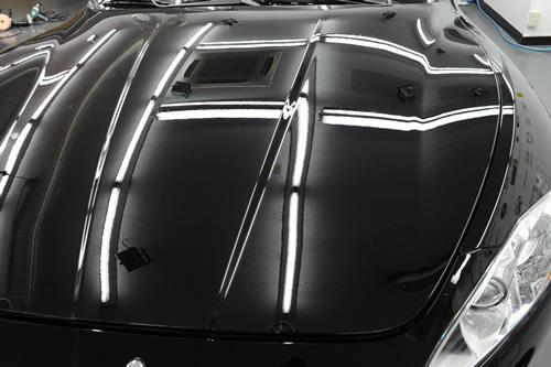 マセラティ Maserati グランツーリズモS ガラスコーティング 施工画像