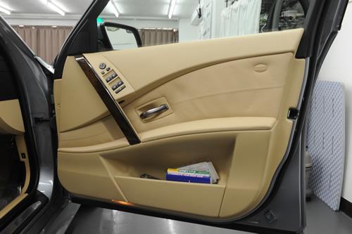 BMW E60 530iMSPガラスコーティング施工画像
