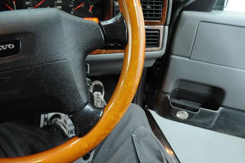 ボルボ Volvo 850 エステート ガラスコーティング 施工画像
