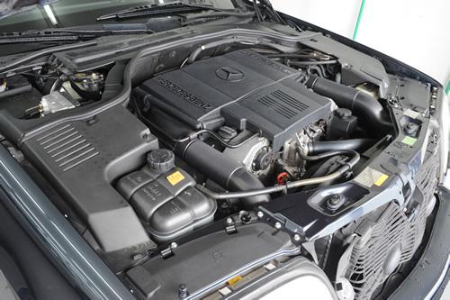 メルセデス ベンツ S500施工画像