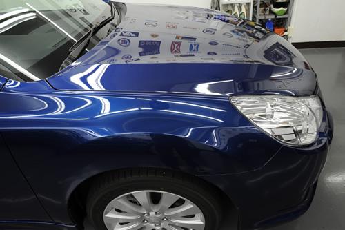 スバル SUBARU レガシィEyeSight ガラスコーティング 施工画像