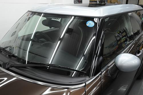 BMW MINI ミニ クラブマン clubman ガラスコーティング 施工画像