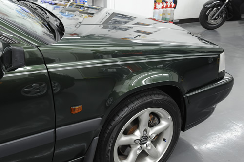 ボルボ Volvo 850エステートガラスコーティング 施工画像
