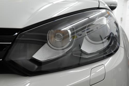 VW GOLF 1.4TSI ガラスコーティング 施工画像