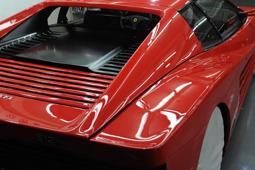 フェラーリ 512TR ガラスコーティング施工画像