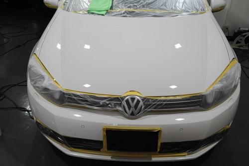 VW ゴルフ GOLF 1_nt.4TSI ガラスコーティング施工画像