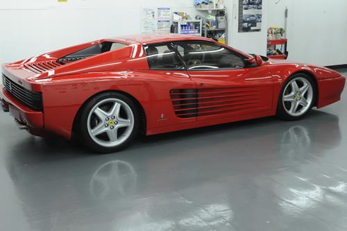 フェラーリ Ferrari 512TR ガラスコーティング施工画像