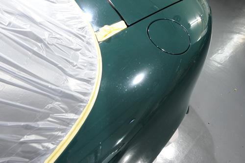マツダ MAZDA NA6 ロードスター Vリミテッド ガラスコーティング 施工画像