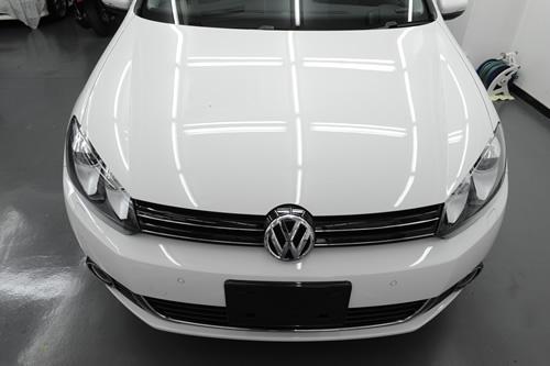 VW ゴルフ6 1_nt.4TSI ガラスコーティング 施工画像