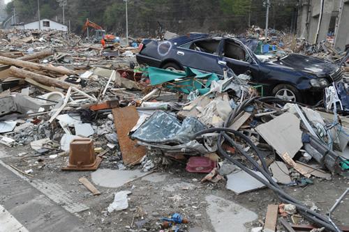 東日本大震災画像