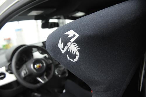 フィアット Fiat アバルト 500施工画像