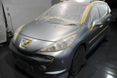 プジョー Peugeot 207SW 奥さま施工画像