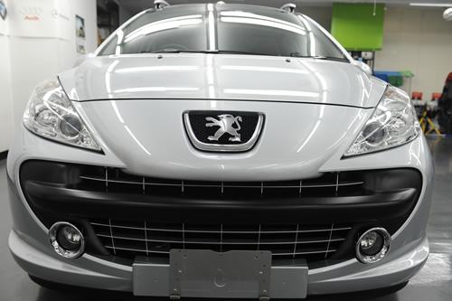 プジョー Peugeot 207SW施工画像