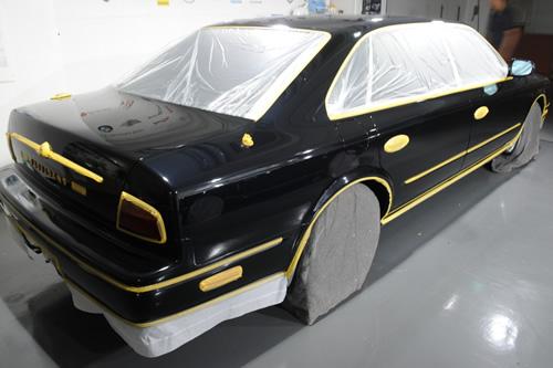 日産 NISSAN プレジデント JG50 ガラスコーティング 施工画像