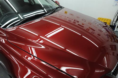 レクサス LEXUS IS250 ガラスコーティング 施工画像