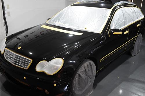 メルセデス ベンツ C180ワゴン施工画像