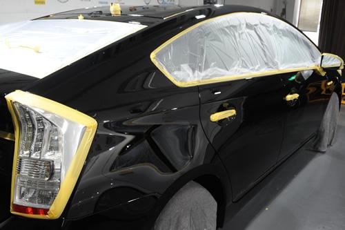 トヨタ TOYOTA プリウス ガラスコーティング 施工画像