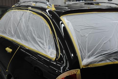メルセデス ベンツ C180施工画像