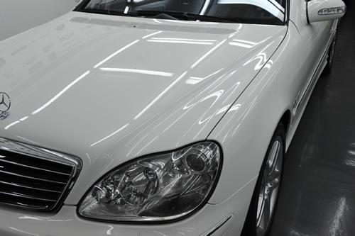 AMG W220 S55 施工画像