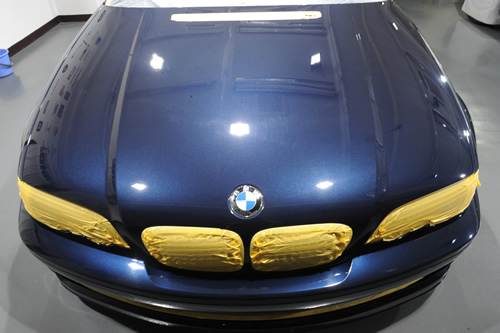 BMW E46 330カブリオレ施工画像