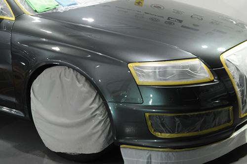 アウディ Audi RS6アバント 施工画像