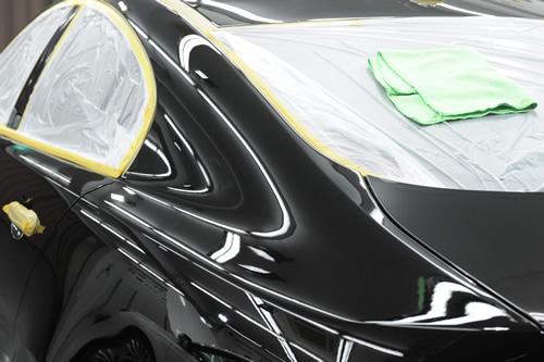 ジャガー XF ガラスコーティング